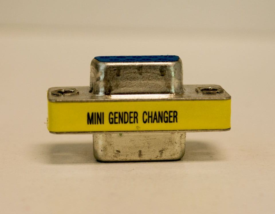 RS-232 gender changer